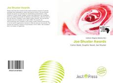 Copertina di Joe Shuster Awards