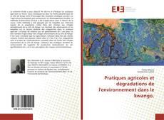 Обложка Pratiques agricoles et dégradations de l'environnement dans le kwango.