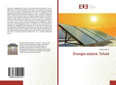 Buchcover von Énergie solaire: Tchad