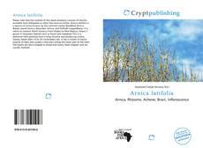 Bookcover of Arnica latifolia