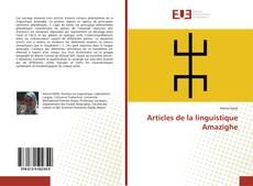 Bookcover of Articles de la linguistique Amazighe