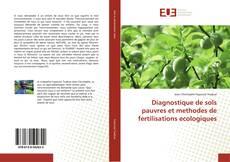 Capa do livro de Diagnostique de sols pauvres et methodes de fertilisations ecologiques