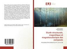 Etude structurale, magnétique et magnétocalorique des composés kitap kapağı