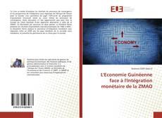Portada del libro de L'Economie Guinéenne face à l'Intégration monétaire de la ZMAO