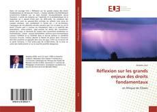 Bookcover of Réflexion sur les grands enjeux des droits fondamentaux