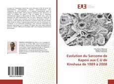Обложка Evolution du Sarcome de Kaposi aux C.U de Kinshasa de 1989 à 2008