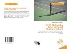 1998 Makarska International Championships的封面
