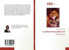 Bookcover of La Reine Ranavalona III