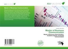 Capa do livro de Master of Business Communication