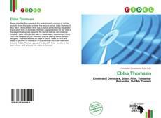 Portada del libro de Ebba Thomsen