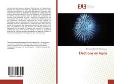 Buchcover von Élections en ligne