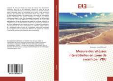Portada del libro de Mesure des vitesses interstitielles en zone de swash par VDU