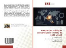 Bookcover of Analyse des politiques économiques de la RDC de 2007 à 2018