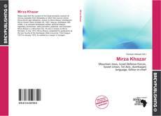 Mirza Khazar kitap kapağı