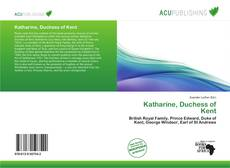 Bookcover of Katharine, Duchess of Kent