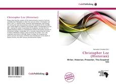 Bookcover of Christopher Lee (Historian)