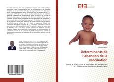 Bookcover of Déterminants de l'abandon de la vaccination
