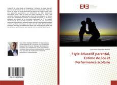 Bookcover of Style éducatif parental, Estime de soi et Performance scolaire