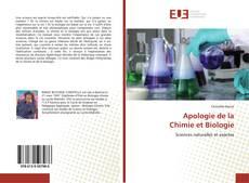 Apologie de la Chimie et Biologie的封面