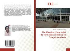 Buchcover von Planification d'une unité de formation continue en français en classe