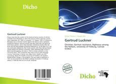 Gertrud Luckner kitap kapağı