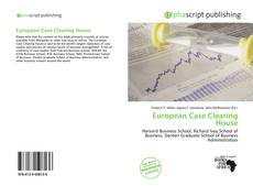 Capa do livro de European Case Clearing House