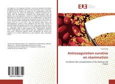 Borítókép a  Anticoagulation curative en réanimation - hoz