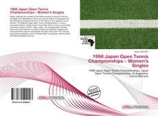 1998 Japan Open Tennis Championships – Women's Singles kitap kapağı