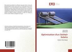 Обложка Optimisation d'un Séchoir Solaire