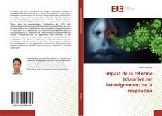 Copertina di Impact de la réforme éducative sur l'enseignement de la respiration