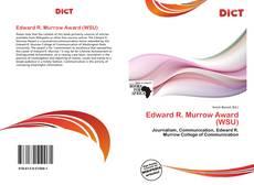 Portada del libro de Edward R. Murrow Award (WSU)