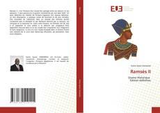Capa do livro de Ramsès II