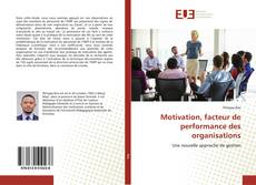 Capa do livro de Motivation, facteur de performance des organisations