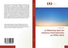 Capa do livro de Le Dahomey dans les relations internationales au XVIIIe siècle