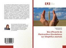 Capa do livro de Bio-efficacité de Plectranthus Glandulosus sur Sitophilus zeamais