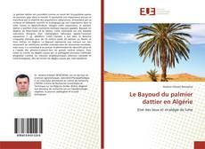Bookcover of Le Bayoud du palmier dattier en Algérie