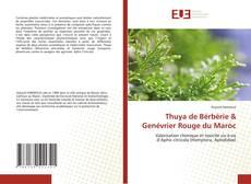 Portada del libro de Thuya de Bérbérie & Genévrier Rouge du Maroc