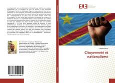 Couverture de Citoyenneté et nationalisme