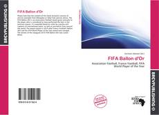 Bookcover of FIFA Ballon d'Or