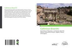 Callinicus (Exarch) kitap kapağı