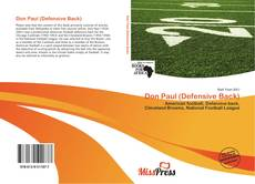 Bookcover of Don Paul (Defensive Back)