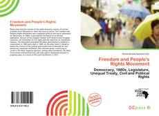 Bookcover of Freedom and People's Rights Movement
