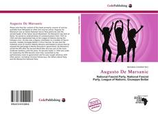 Buchcover von Augusto De Marsanic