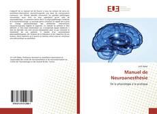 Couverture de Manuel de Neuroanesthésie