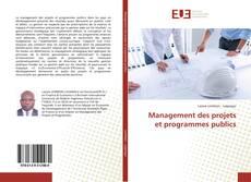 Capa do livro de Management des projets et programmes publics