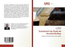 Capa do livro de Écoulement du fluide de Herschel-Bulkley