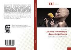 Buchcover von L'univers romanesque d'Amélie Nothomb