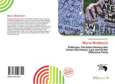 Portada del libro de Mario Mettbach