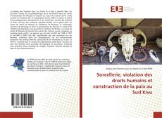 Copertina di Sorcellerie, violation des droits humains et construction de la paix au Sud Kivu