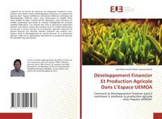 Buchcover von Développement Financier Et Production Agricole Dans L'Espace UEMOA